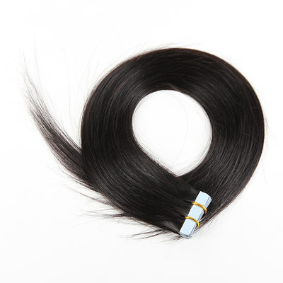 5A Virgin / remy Tout droit les cheveux humains Ruban dans les extensions de cheveux 20PCS 50 g