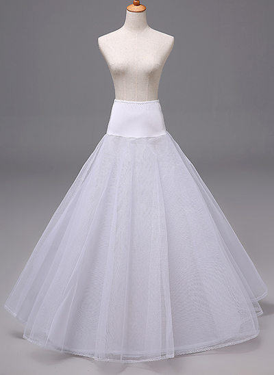 Women Polyester 3 Tiers Petticoats