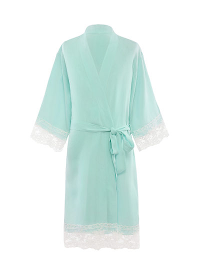 Cotton Flower Girl Blank Robes