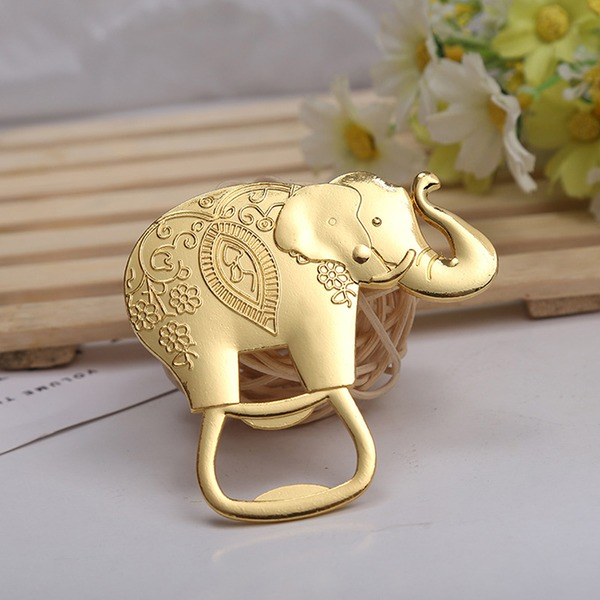 Cute Animal Alloy Bottle Openers (Set of 4 Pieces)