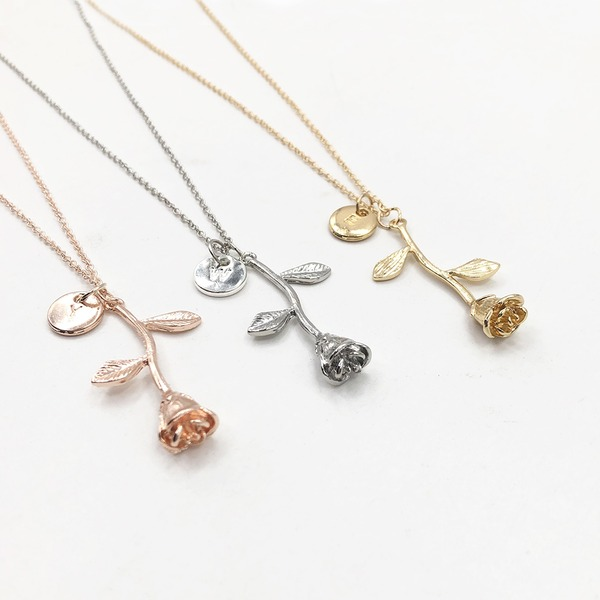 Letter Alloy Women's Fashion Necklace (Sold in a single piece)