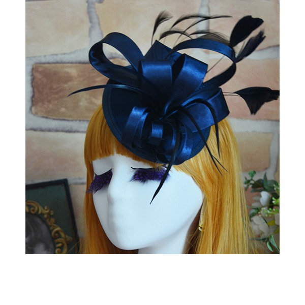 Dames Luim Batist/Feather Fascinators