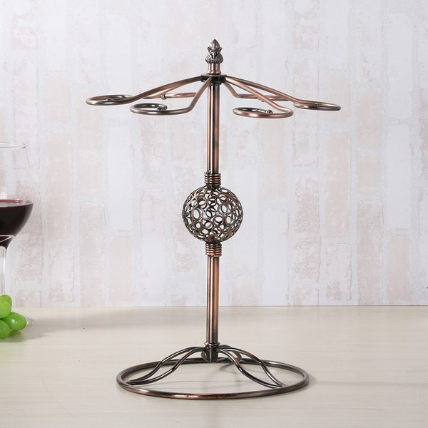 Wine Rack Iron Pretty Bright Table Centerpieces