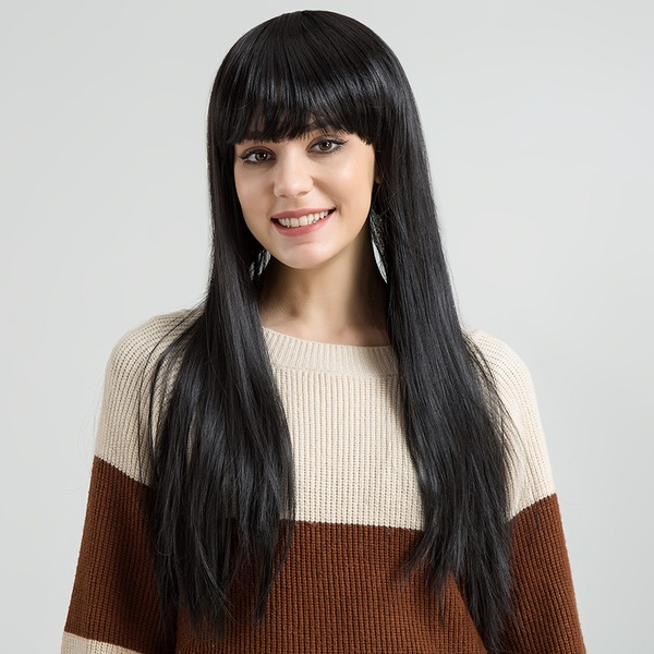 Straight Synthetic Hair Synthetic Wigs 250g