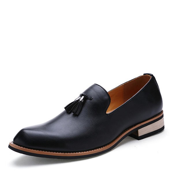 Men's Leatherette Tassel Loafer Casual Dress Shoes Men's Loafers