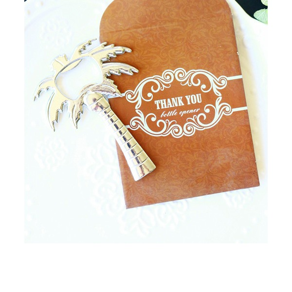 Palm Tree Bottle Opener in Thank You GiftBag