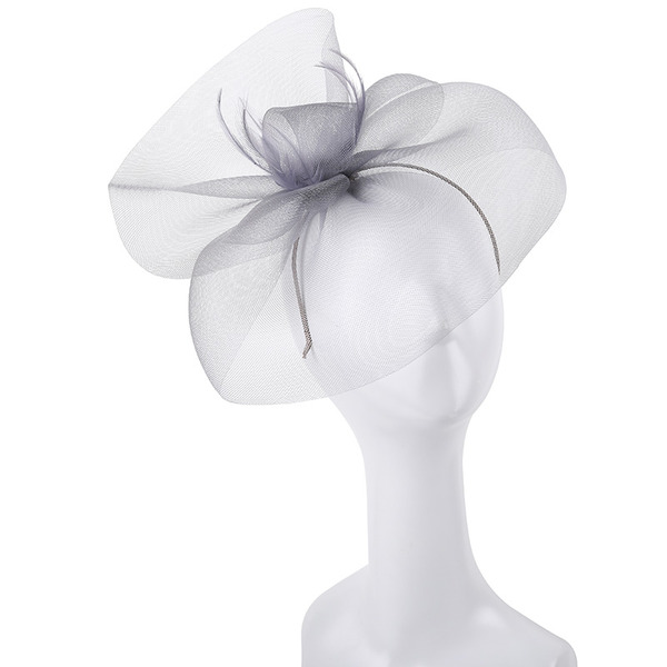 Ladies' Simple/Nice/Pretty Polyester With Feather/Tulle Fascinators