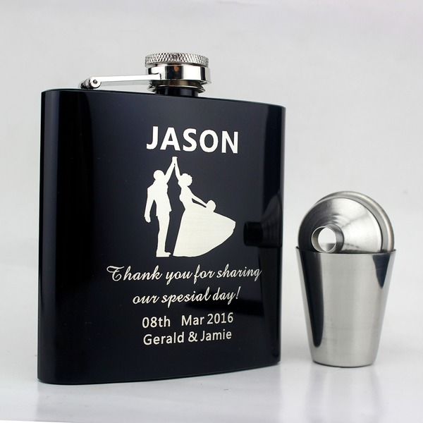 Flasks Stainless Steel Groom Fashionable Gifts