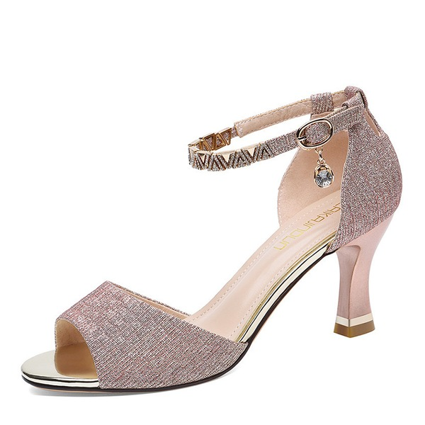 Women's Stiletto Heel Peep Toe