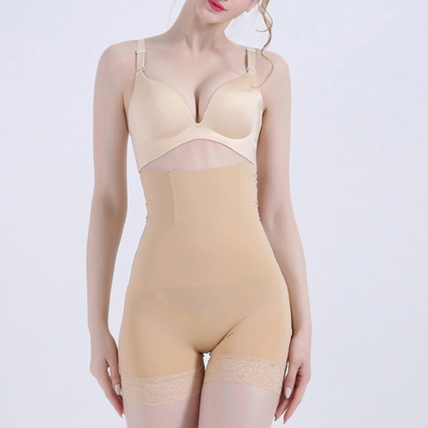 Women Sexy/Elegant/Charming Cotton/Chinlon Breathability High Waist Shorts Shapewear
