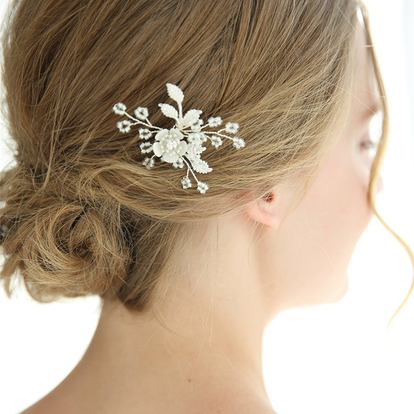 Elegant Alloy Hairpins With Rhinestone (Sold in single piece)