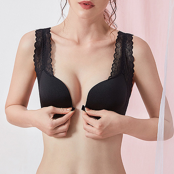Fancy Chinlon/Nylon Wireless Bra