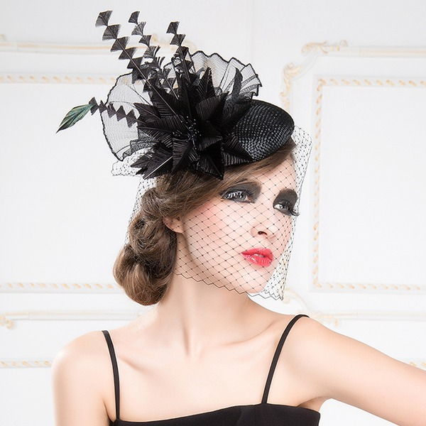 Ladies' Beautiful/Glamourous/Eye-catching/Romantic/Artistic Polyester Fascinators