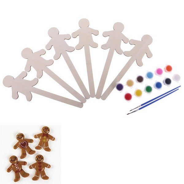 Lovely Wooden Creative Gifts (Set of 6)
