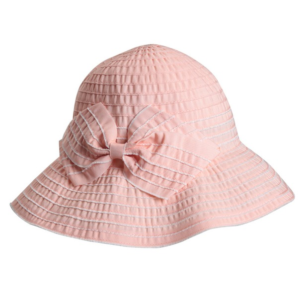 Ladies' Beautiful/Lovely Polyester With Bowknot Bowler/Cloche Hat