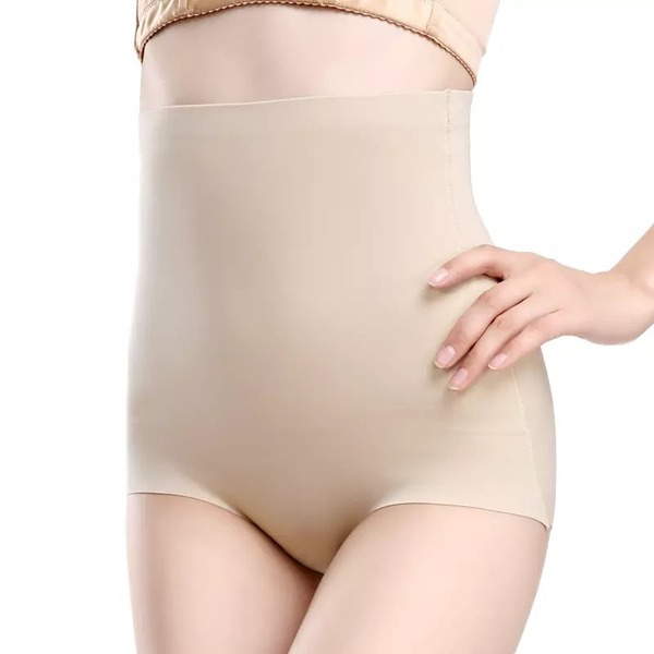 Women Feminine/Classic Chinlon/Nylon Breathability High Waist Panties/Waist Cinchers Shapewear