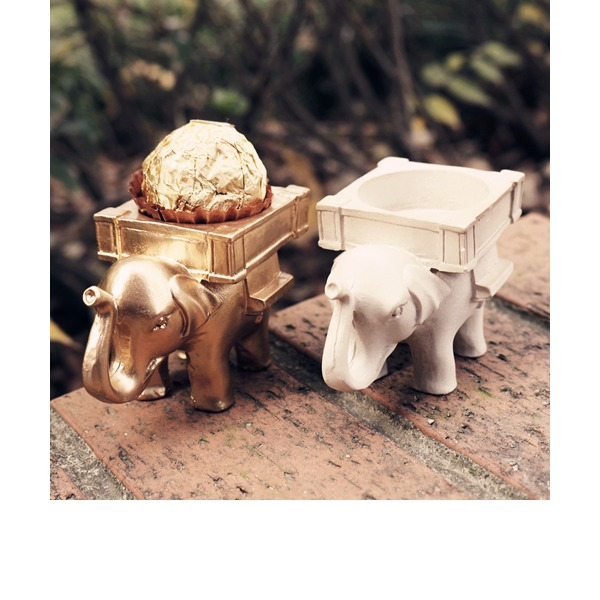 Lovely Elephant Resin Creative Gifts (Set of 3 pieces)