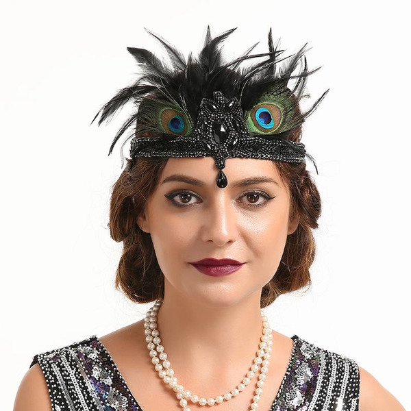 Ladies' Glamourous/Unique/Amazing/Eye-catching Feather With Feather Fascinators/Kentucky Derby Hats/Tea Party Hats
