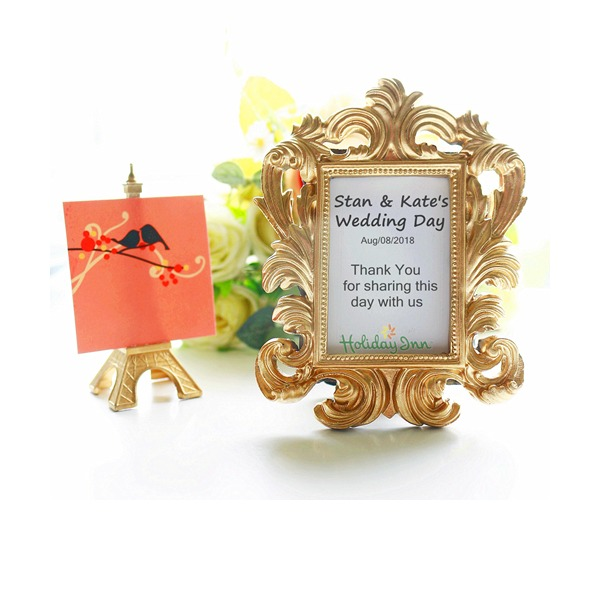DIY Gold Baroque Photo Frame Wedding Decoration(Sold in a single)