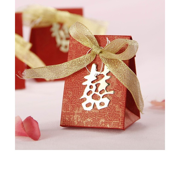 Double Happiness Wedding Favor Box (Set of 12)