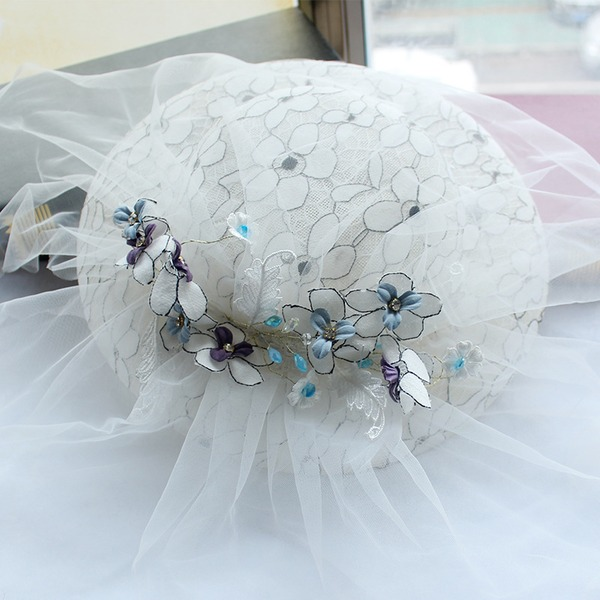 Ladies' Net Yarn Fascinators