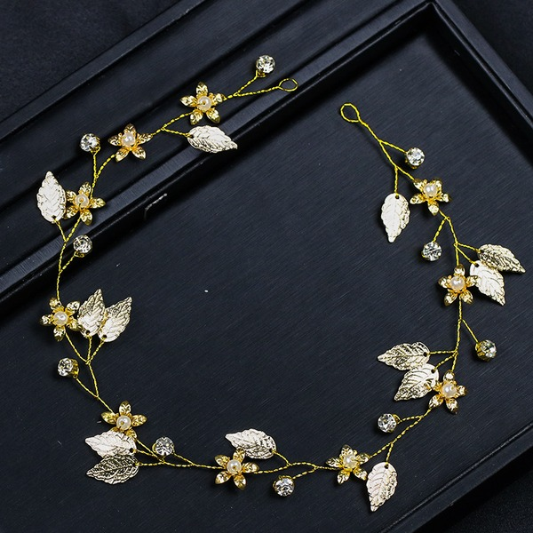 Ladies Pretty Rhinestone/Alloy Headbands With Rhinestone