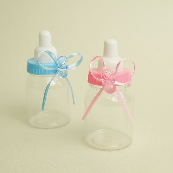 Plastic Candy Jars and Bottles (Sold in a single piece)