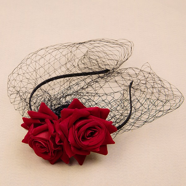 Dames Glamour/Élégante/Simple/Fait main Velours/Tulle Chapeaux de type fascinator
