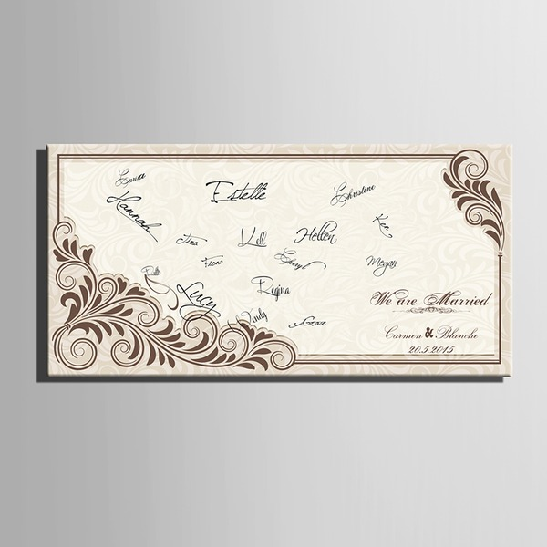 Personalized Signature Guestbook