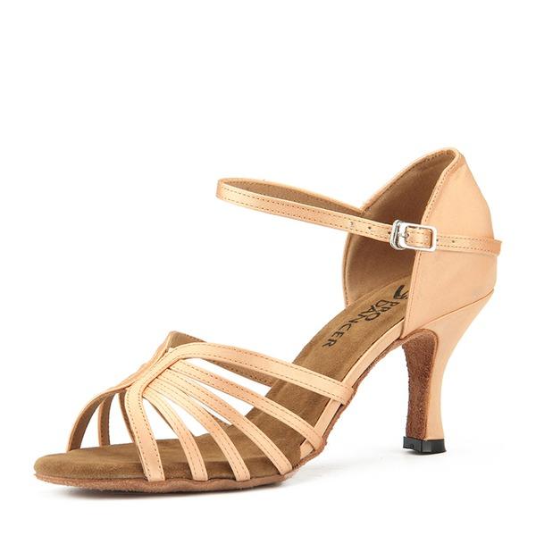 Donna Raso Tacchi Latino Scarpe da ballo