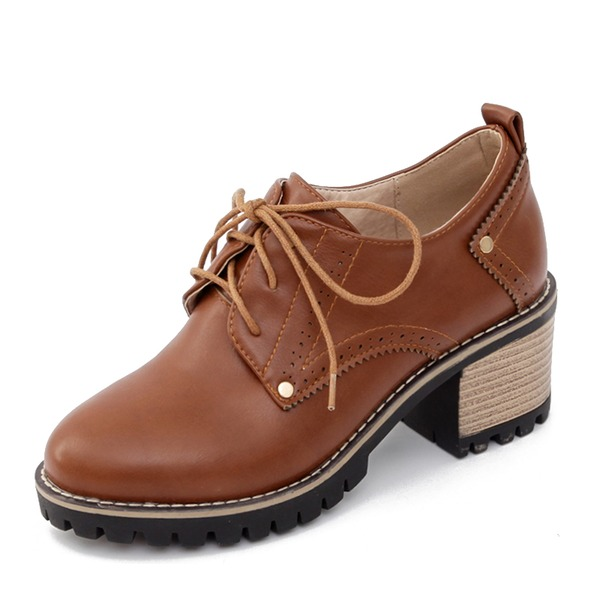 Femmes PU Talon bottier Escarpins Bottes Bottines avec Dentelle chaussures