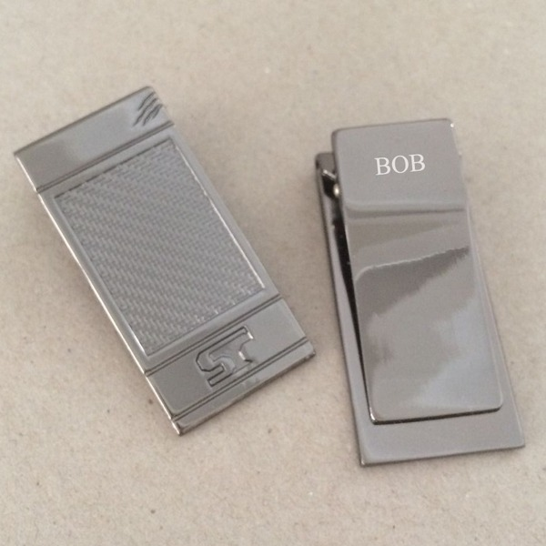 Personalized Zinc Alloy Money Clip (Sold in a single piece) (5 letters or less)