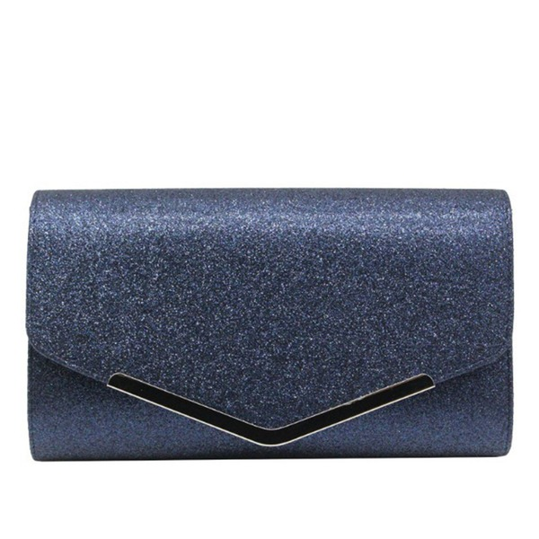 Unique Sparkling Glitter/Polyester Clutches
