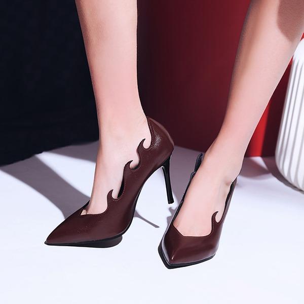 Femmes Similicuir Talon stiletto Escarpins avec Autres chaussures