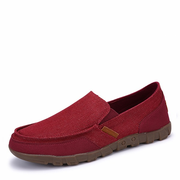 Mannen Zeildoek Penny Loafer Casual Loafers voor heren