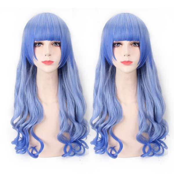 Loose Wavy Synthetic Hair Capless Wigs Cosplay/Trendy Wigs 260g