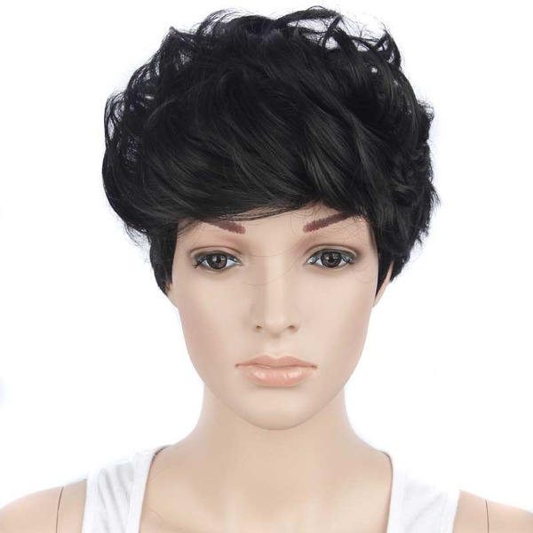 Wavy Capless Synthetic Wigs