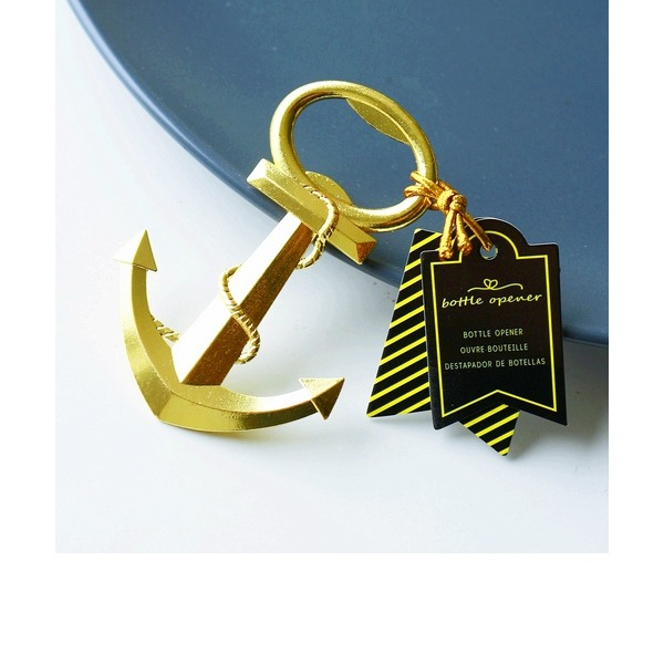 GOLD NAUTICAL ANCHOR BOTTLE OPENER(Sold in a single piece)