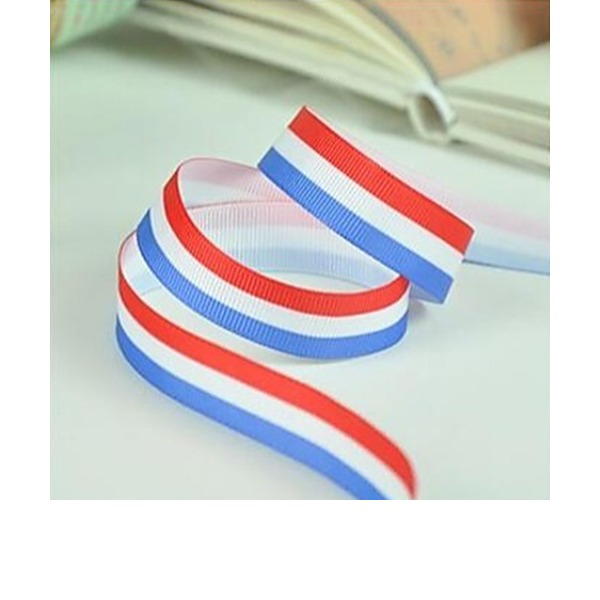 2/5-Inch Stripe Satin Ribbon