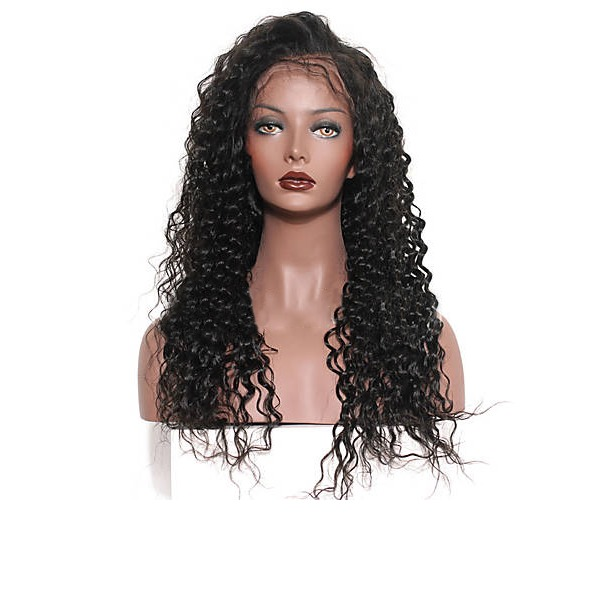 4A ei remy Deep Wave Ihmiskarva Lace Front Peruukit