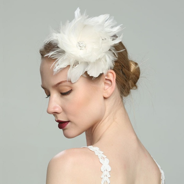 Glamourous/Elegant/Simple/Eye-catching/Fancy/Romantic/Artistic Feather With Feather Fascinators