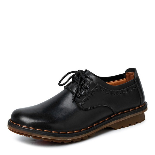 Men's Leatherette Lace-up Casual Dress Shoes Men's Oxfords