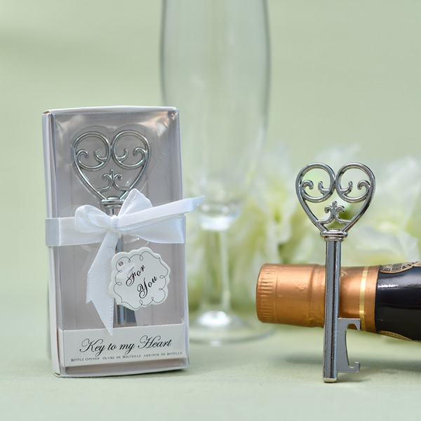 Lovely/Heart Accented Hearts Shape Zinc alloy Bottle Openers (Sold in a single piece)