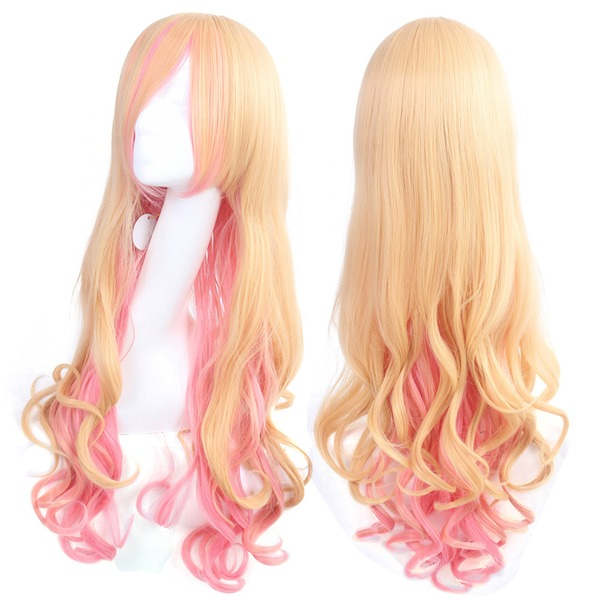 Loose Wavy Synthetic Hair Cosplay/Trendy Wigs 300g