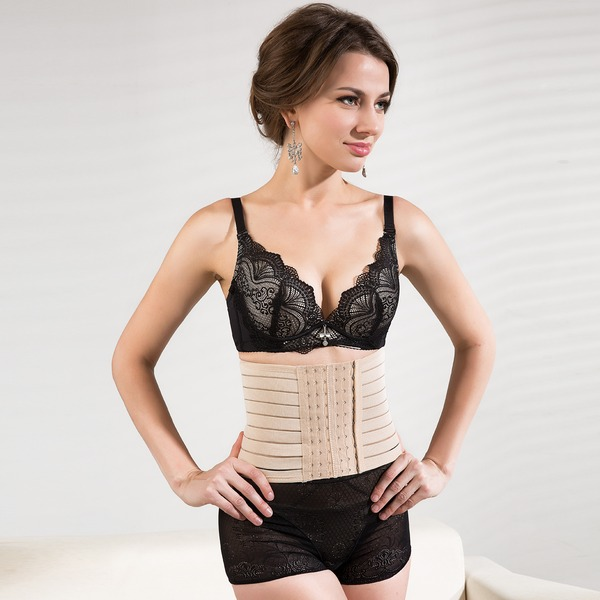 Women Classic Cotton/Chinlon Waist Cinchers Shapewear