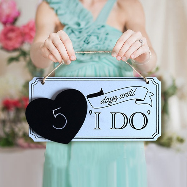 Legno Accessori decorativi/Wedding Sign (Set di 5)
