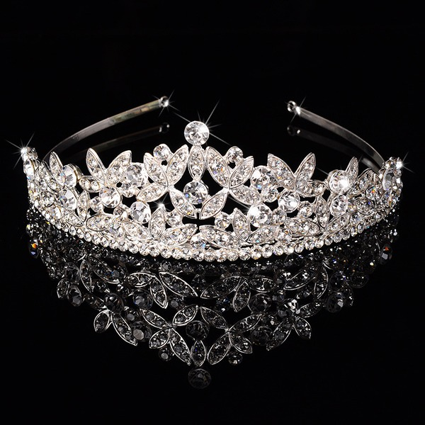 Ladies Beautiful Rhinestone/Alloy Tiaras