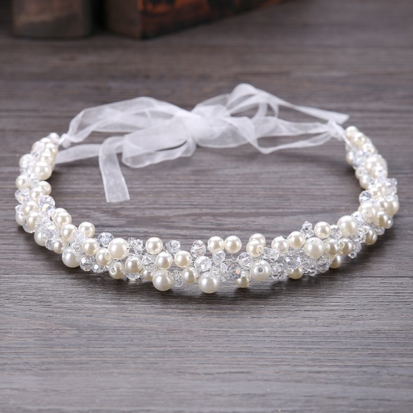 Beautiful Crystal/Imitation Pearls Headbands (Sold in single piece)