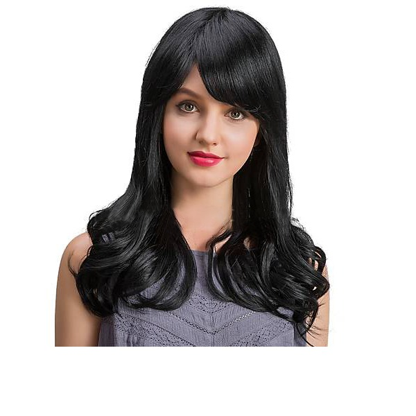 4A Non remy Straight Human Hair Capless Wigs