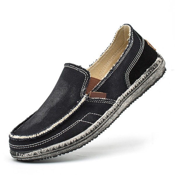 Men's Canvas Boat Shoes Casual Men's Loafers